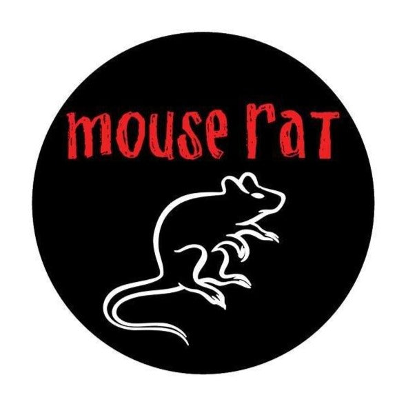 Mouse Rat Kiss-Cut Sticker