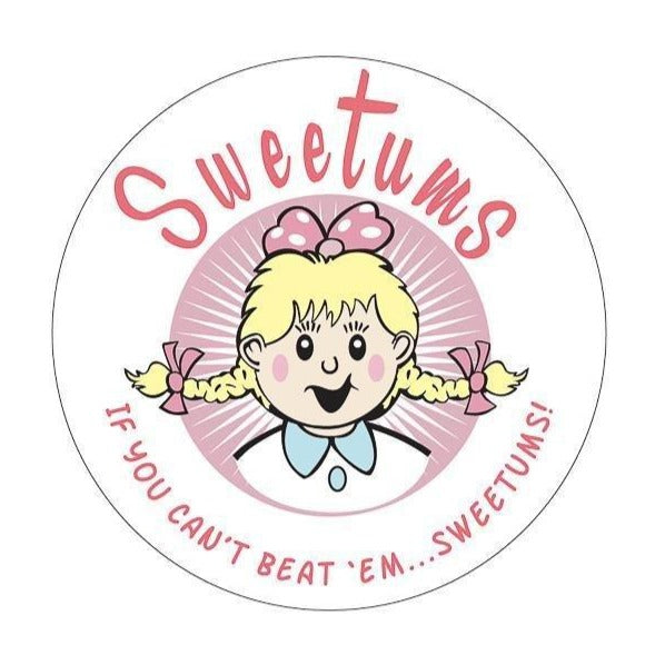 Sweetums Kiss-Cut Sticker