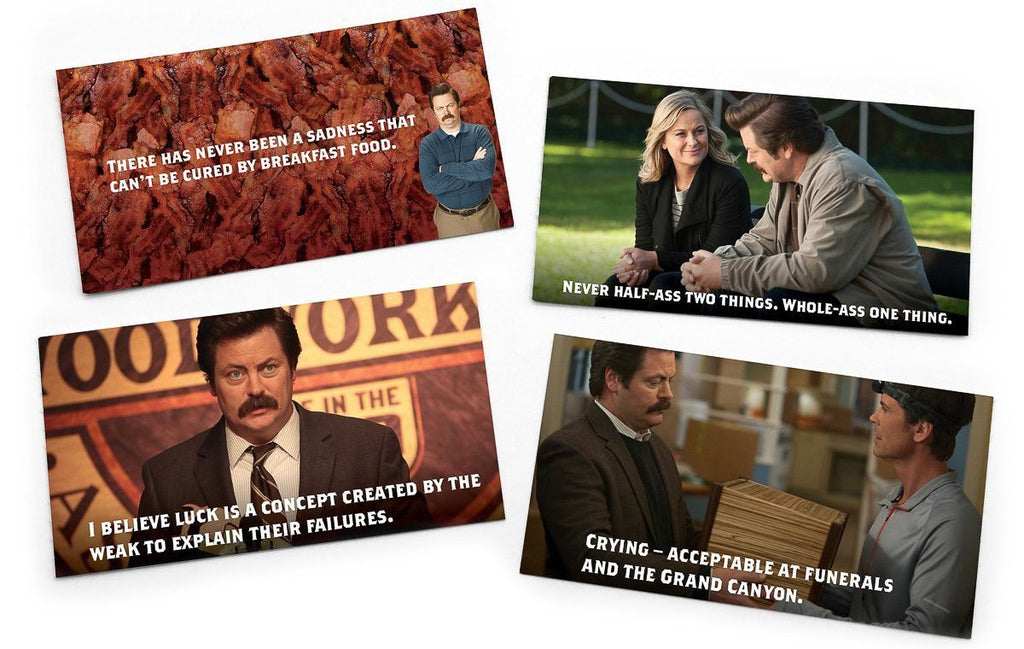 Ron Swanson Notes of Wisdom