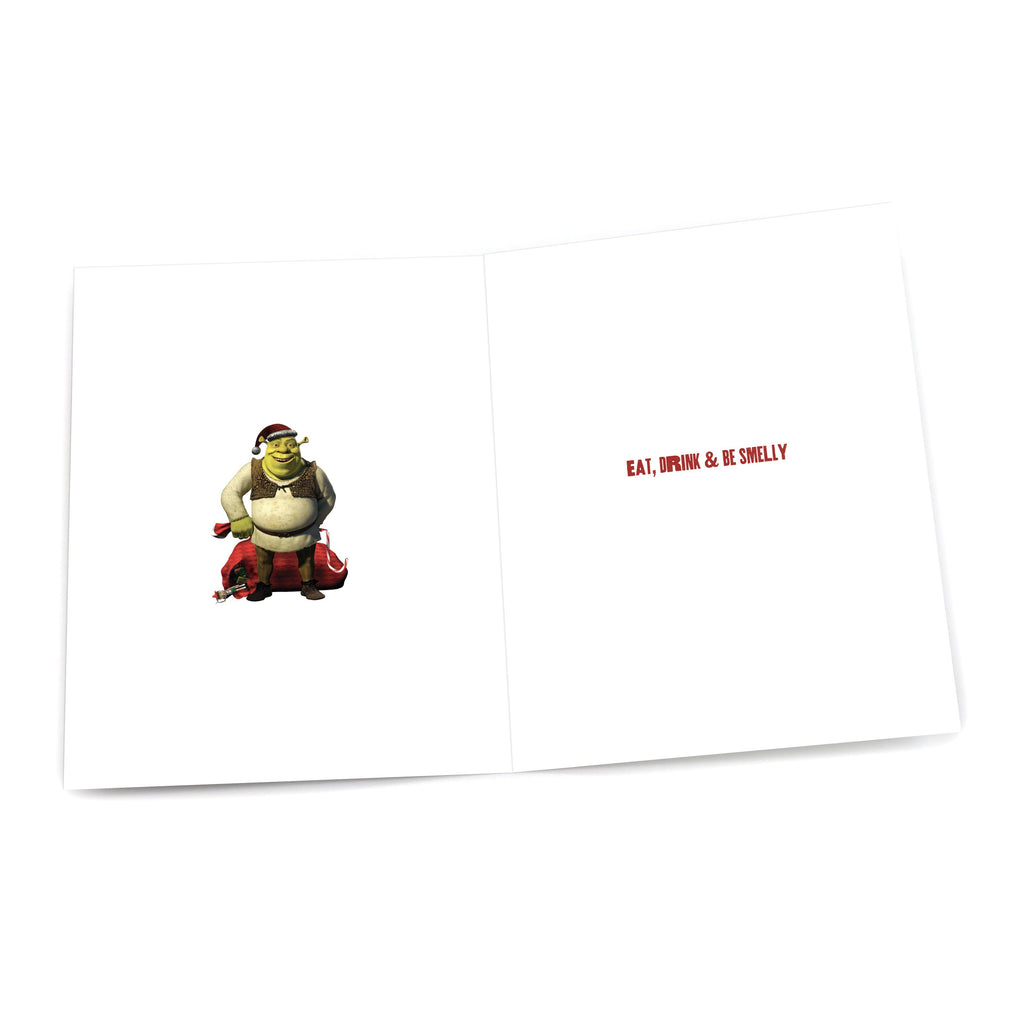 "Shrek ""Shrek the Halls"" Holiday Card"