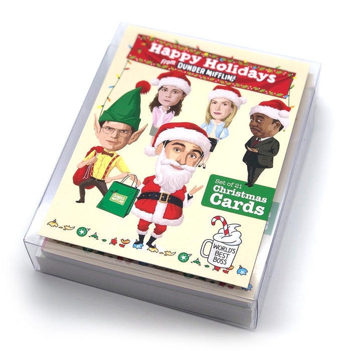 Holiday Greeting Card Set - The Office