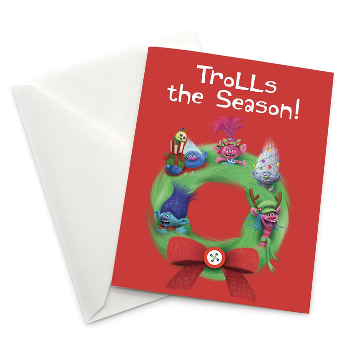 "Trolls ""Trolls the Season!"" Holiday Card 