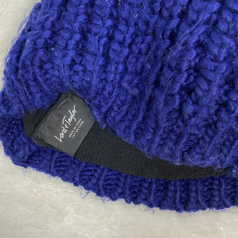 Large Pom Pom Knitted Toque | Lord + Taylor