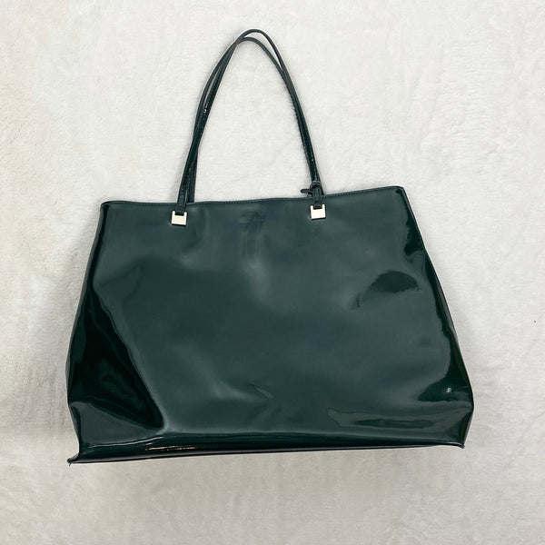 Large Patent Faux Leather Bag | Ivanka Trump