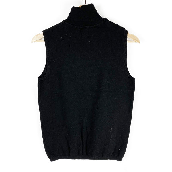 Sleeveless Turtleneck Sweater | H&M | Size M