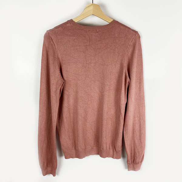 Dusty Pink Knit Sweater | H&M | Size M