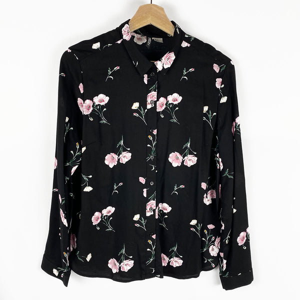 Floral Button-Down Blouse | H&M | Size 6