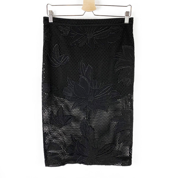 Laser Cut Pencil Skirt | Re:Named | Size L