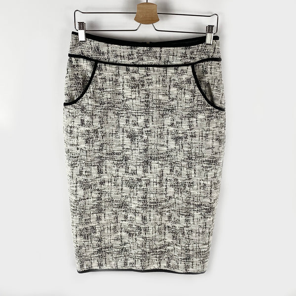 Tweed Pencil Skirt | Faith and Joy | Size M