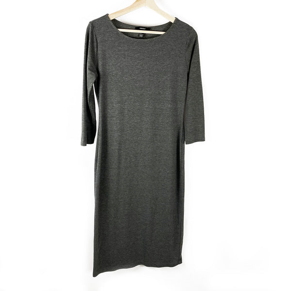 T-Shirt Dress, Charcoal Grey | Forever 21 | Size L