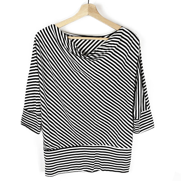 Striped 3/4 Sleeve Top | River Island