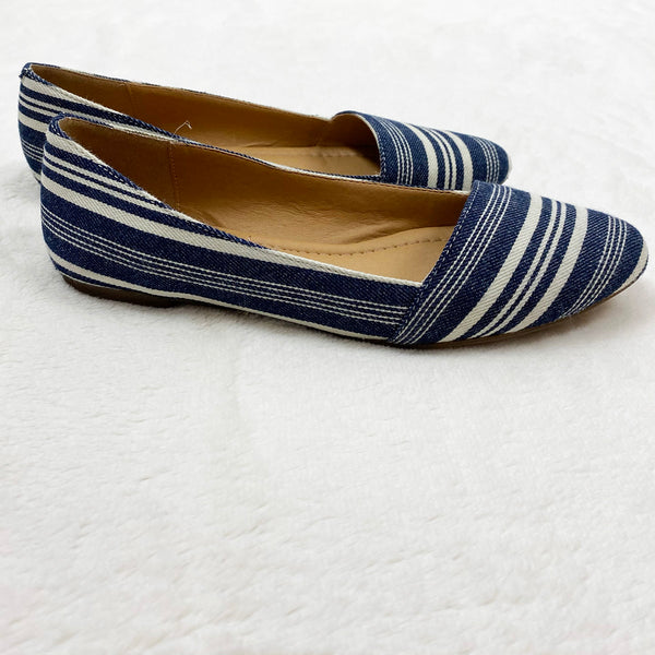 Striped Pointed Ballet Flats | Lucky Brand