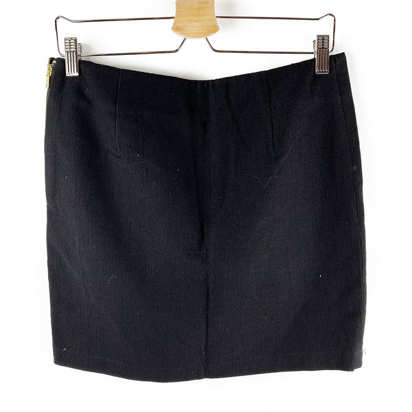 Linen Mini Skirt | Serpent & the Swan | Size L