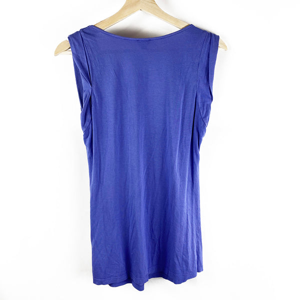 Ruffle Scoop Neck Top | Wilfred | Size XS