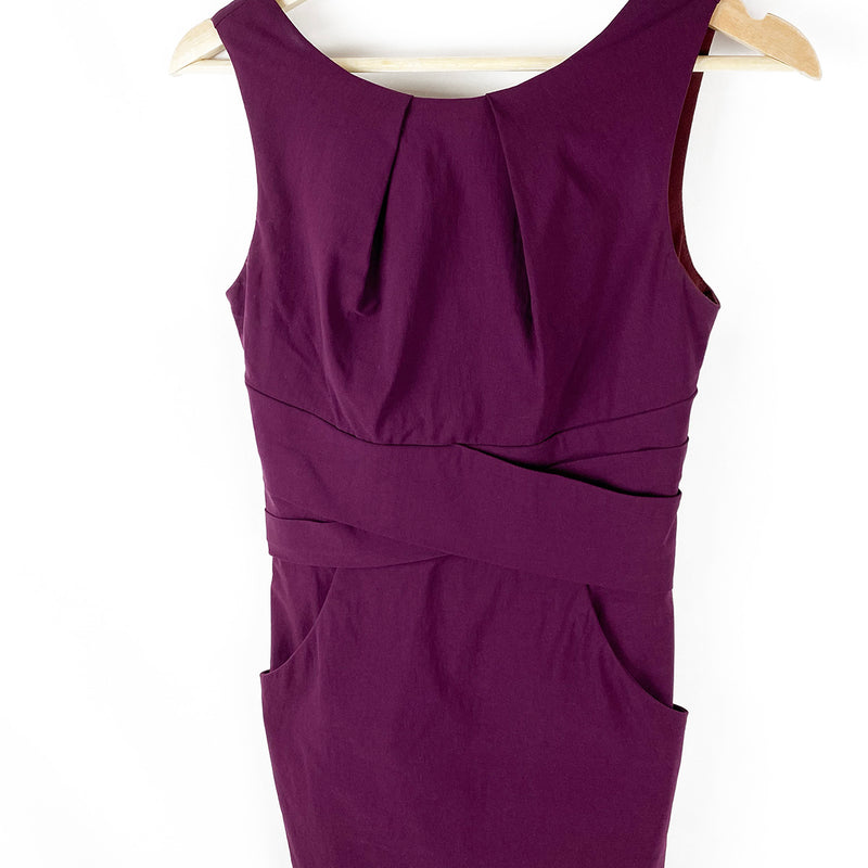 Wrap Front Sheath Dress | Le Chateau