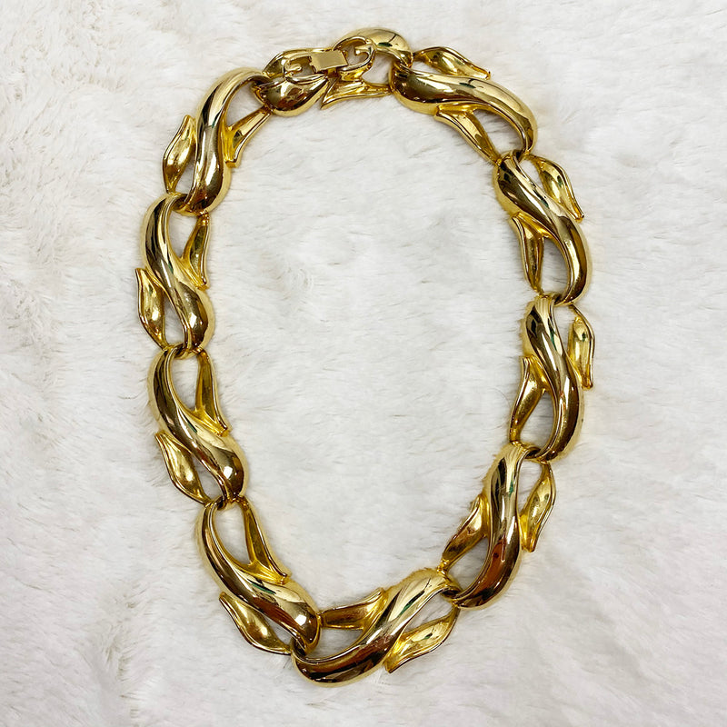 Chunky Gold Plated Necklace