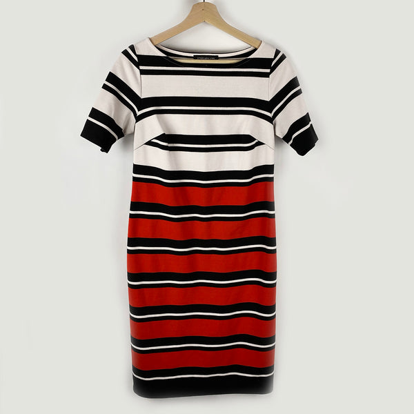 Nautical Stripped Dress | Jones New York | Size S
