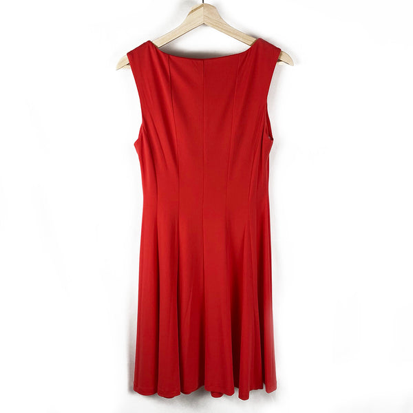 Red A-Line Dress | Connected Apparel