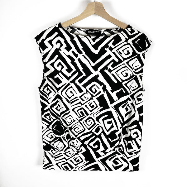 Graphic Print Top | Jones New York