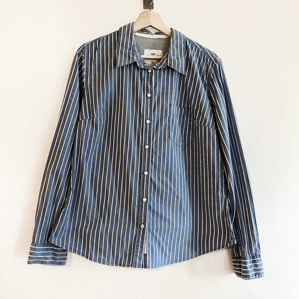 Thrift Store | Striped Dress Shirt | H&M | Size 14