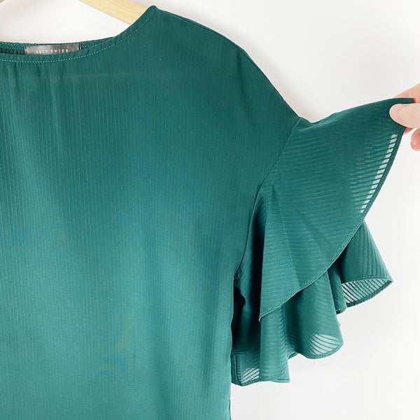 Tiered Sleeve Blouse | Suzy Shier | Size XS