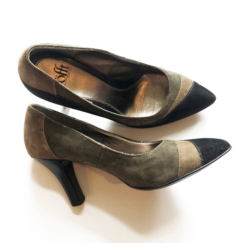 Thrift Store | 3-Tone Pumps | Sofft | Size 7.5 US