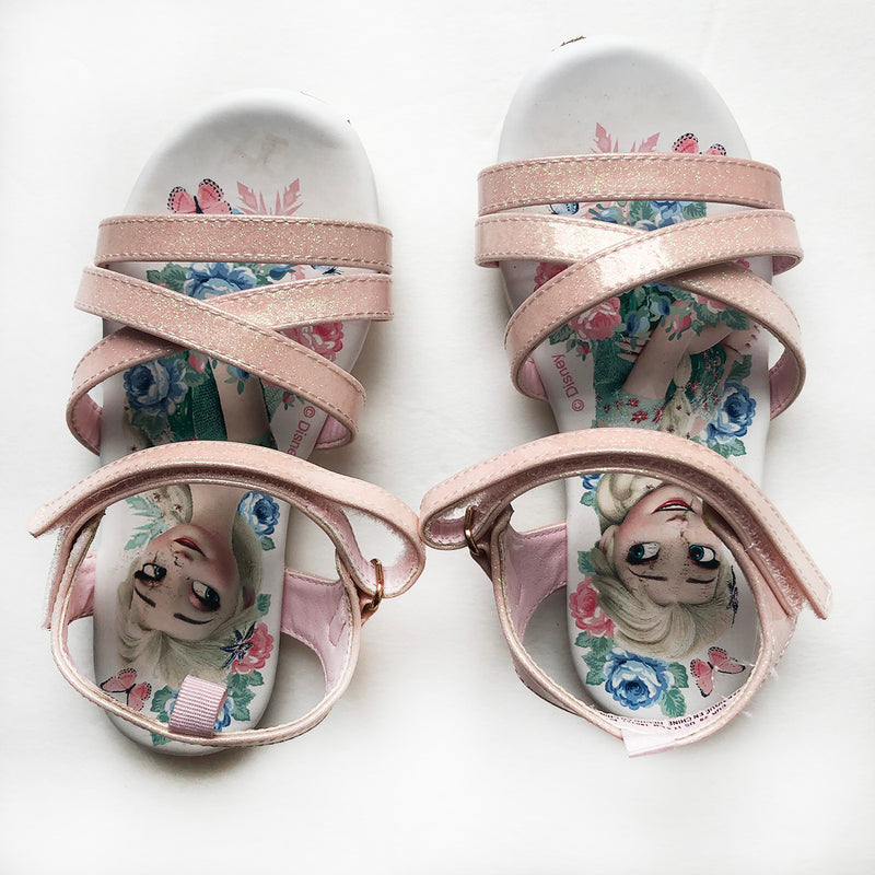 Thrift Store | Disney Frozen Sandals | H&M | Size 11.5