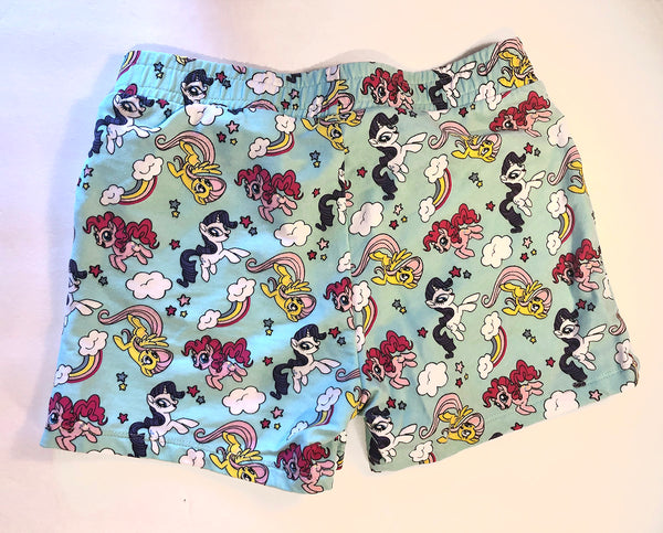 Thrift Store | My Little Pony Shorts | H&M | Size 6-8Y