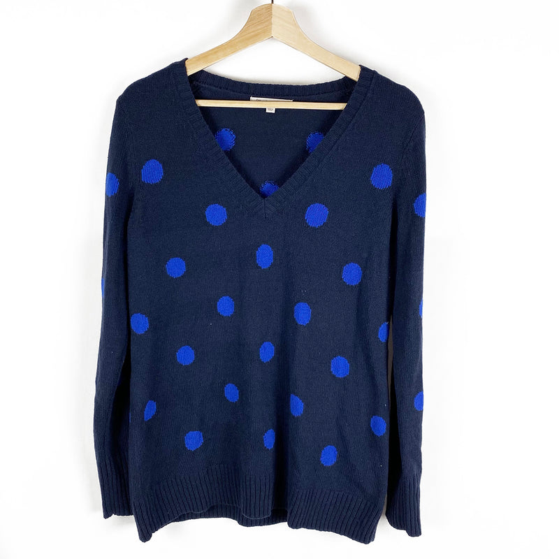 Dotted Knit Sweater | Gap | Size L