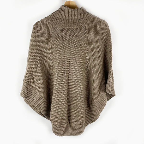 Sherlock Knit Poncho, Tan | Gap