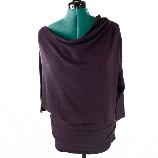 Dolman Sleeve Asymmetrical Top | Suzy Shier