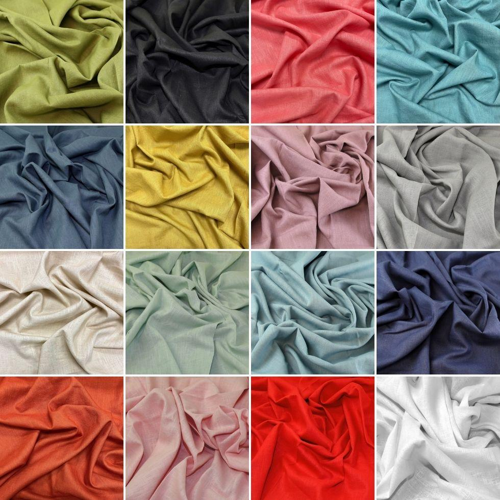 Copy of Washed 100% Linen Fabric