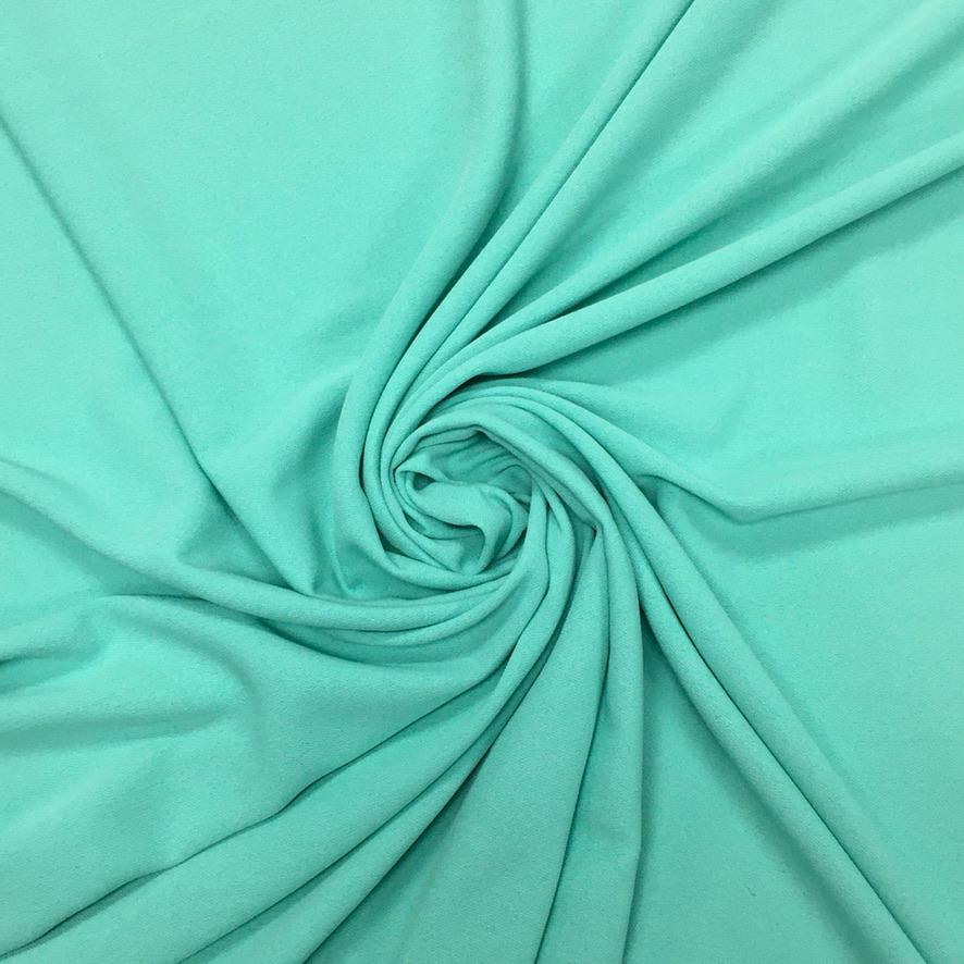 Light Turquoise Heavy Georgette Fabric