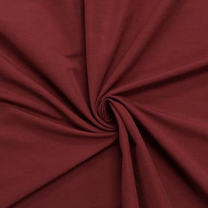 Burgundy Bengaline Stretch Fabric
