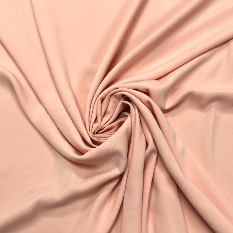 Peach Polyester Fabric #3