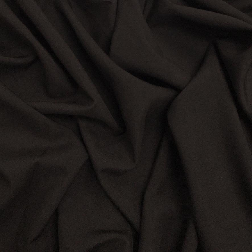Dark Brown Bi-Stretch Fabric