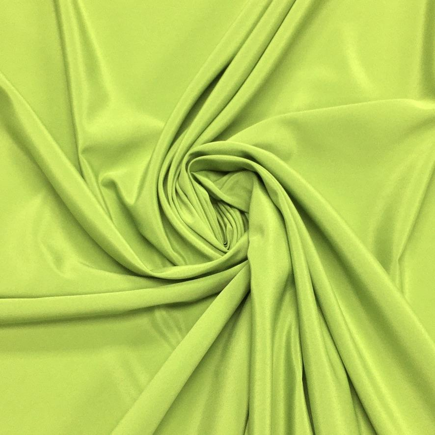 Bright Lime Green Polyester Fabric