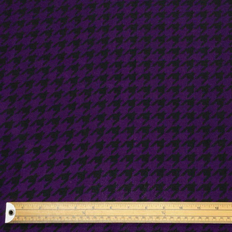 Dogtooth Polyester Fabric