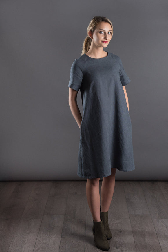 The Avid Seamstress • The Raglan Dress / Top • Intermediate - Pound Fabrics