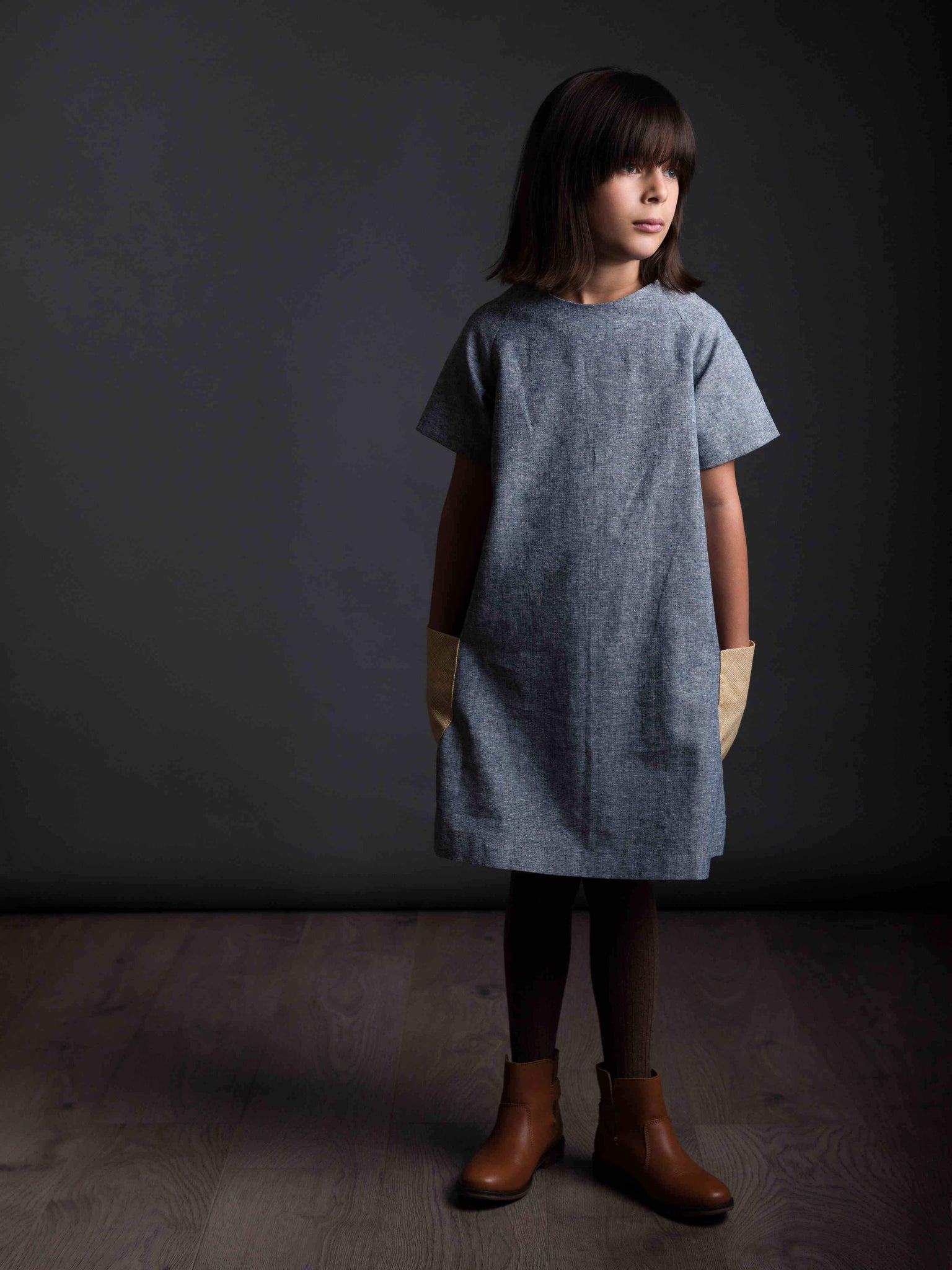 The Avid Seamstress • The Raglan Dress- Age 3-8 • Intermediate - Pound Fabrics