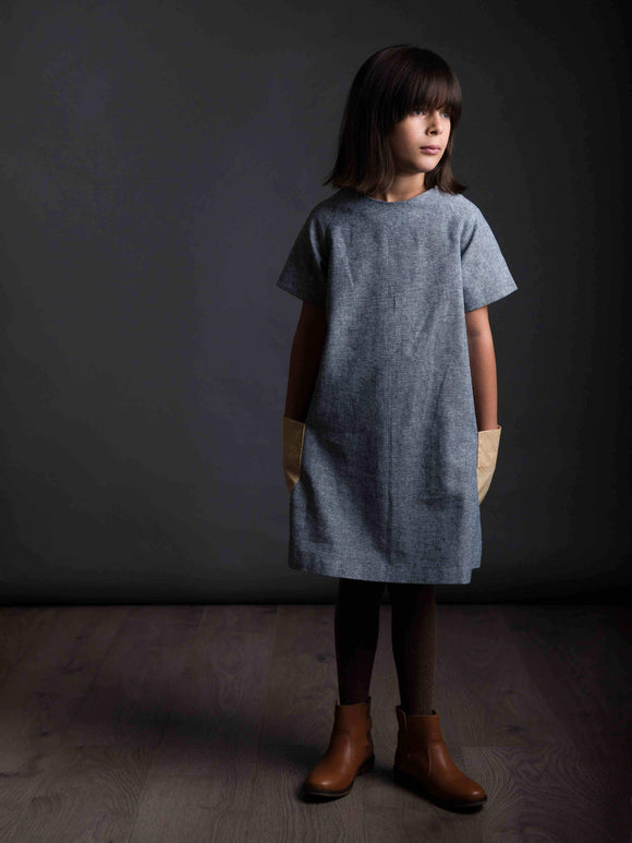 The Avid Seamstress • The Raglan Dress Age 3-8 • Intermediate - Pound Fabrics