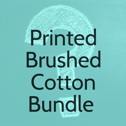 Printed Brushed Cotton Bundle 3 x 3 Metres (Total 9 Metres)