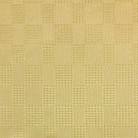Yellow Squares Curtain Fabric - 2m wide