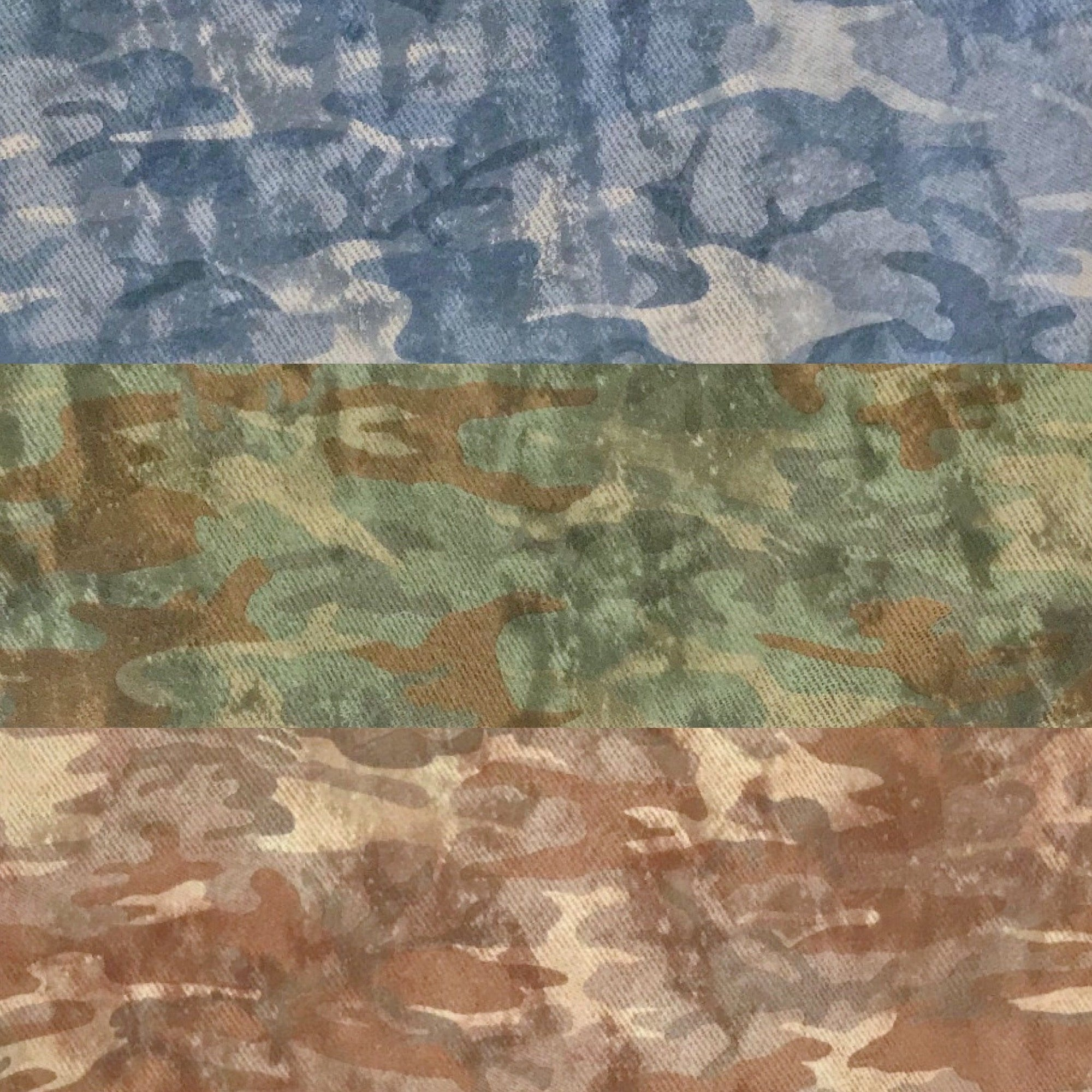 Budget Camo Fleece Fabric