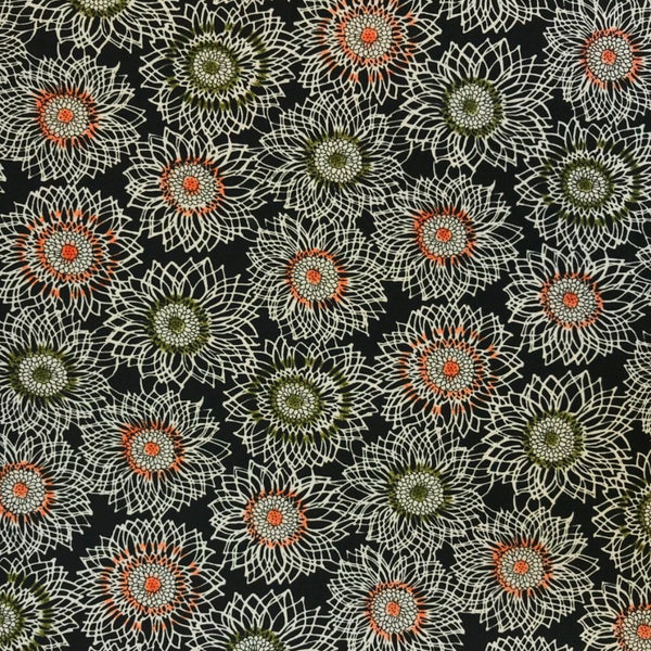 Sunflowers Polyester Fabric