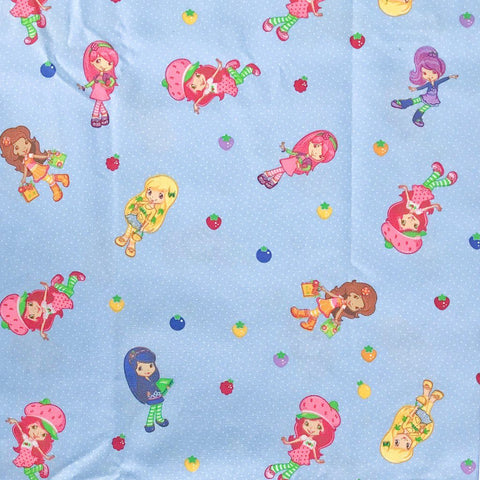 Strawberry Shortcake Cotton Fabric - 3 metres