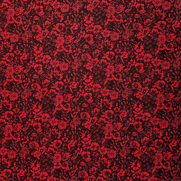 Busy Floral Cotton Fabric