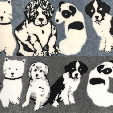 Puppies Anti-Pill Polar Fleece Fabric - Pound Fabrics