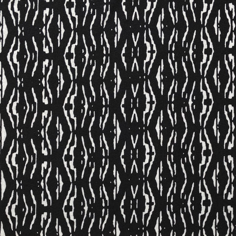 Scattered Lines Jersey Fabric