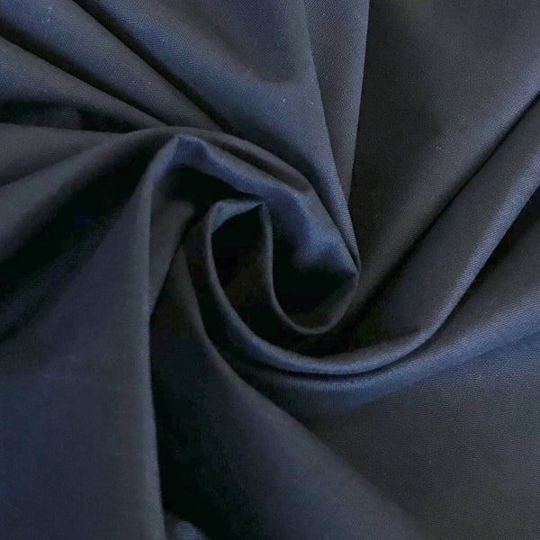 "Navy 94"" Polycotton Fabric - Pound Fabrics"